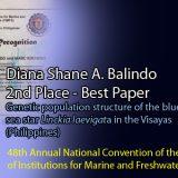 Balindo 2nd Best Paper FIMFS