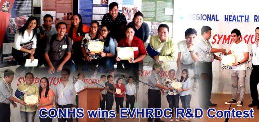 CONHS winners