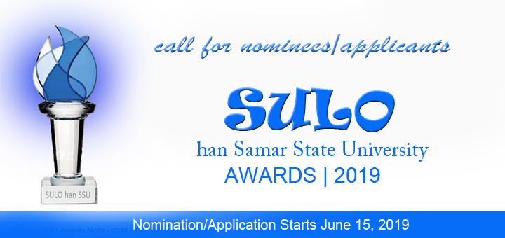 Call for SULO 2019 Award Nominees/Applicants