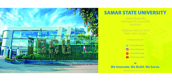 SSU | Samar State University – We innovate  We build  We serve