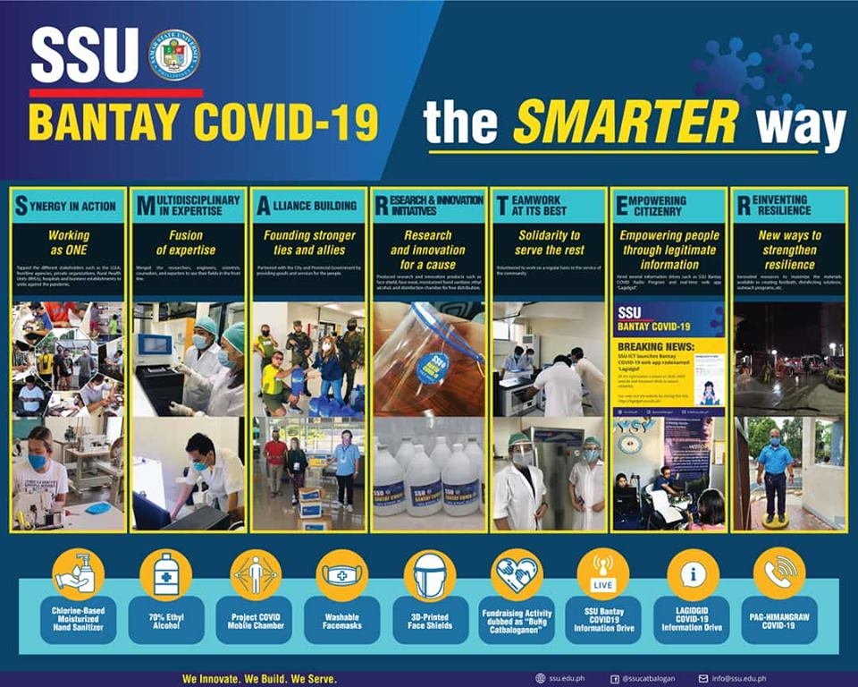 Samar State University (SSU) combats COVID-19 pandemic the SMARTER way!