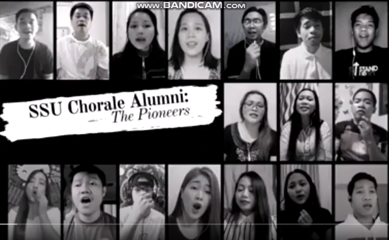 SSU Chorale Pioneers spread hope with a sing-along of Groban's You Raise Me Up
